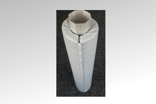 A. Bruhin AG - Wetterfeste Schutzmatte um Masten, Säulen, Pfosten, Projekte aller Art